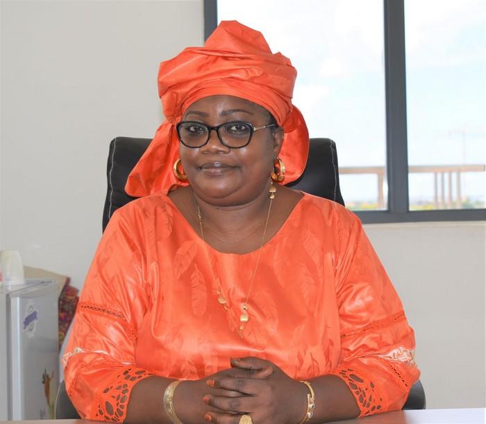 Fatoumata Diouf dieng , coordonnatrice macky 2012