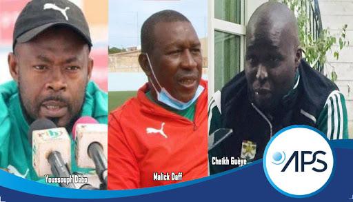 Youssouph Dabo, Malick Daff et Cheikh Guèye coach
