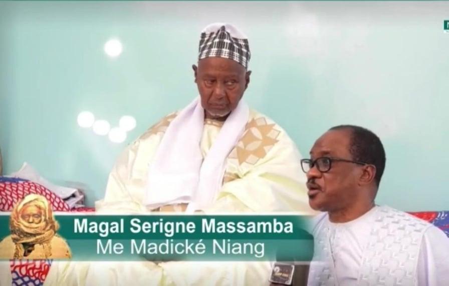 Me Madické Niang – Serigne Mouhamadou Moustapha Ibnou Cheikh Massamba Mbacké