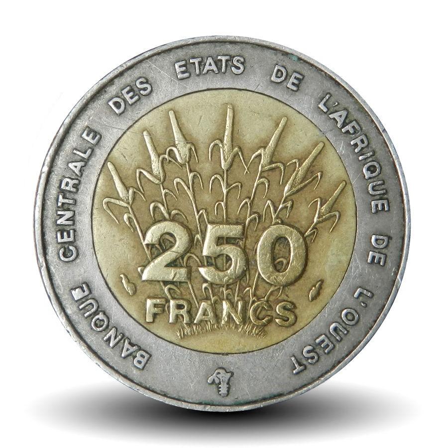 etats-de-l-afrique-de-l-ouest-piece-de-250-francs-1992-bceao