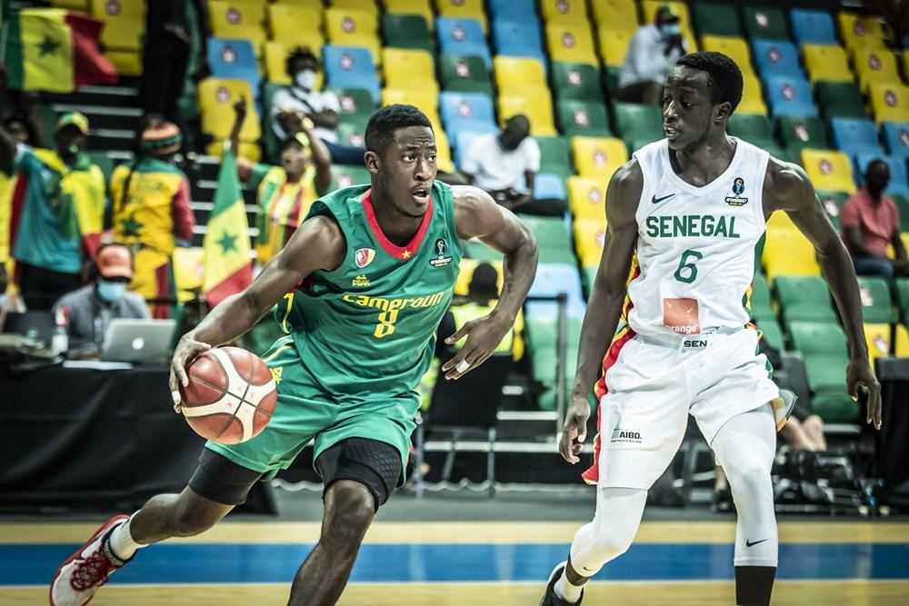 Lions du basket vs cameroun faye