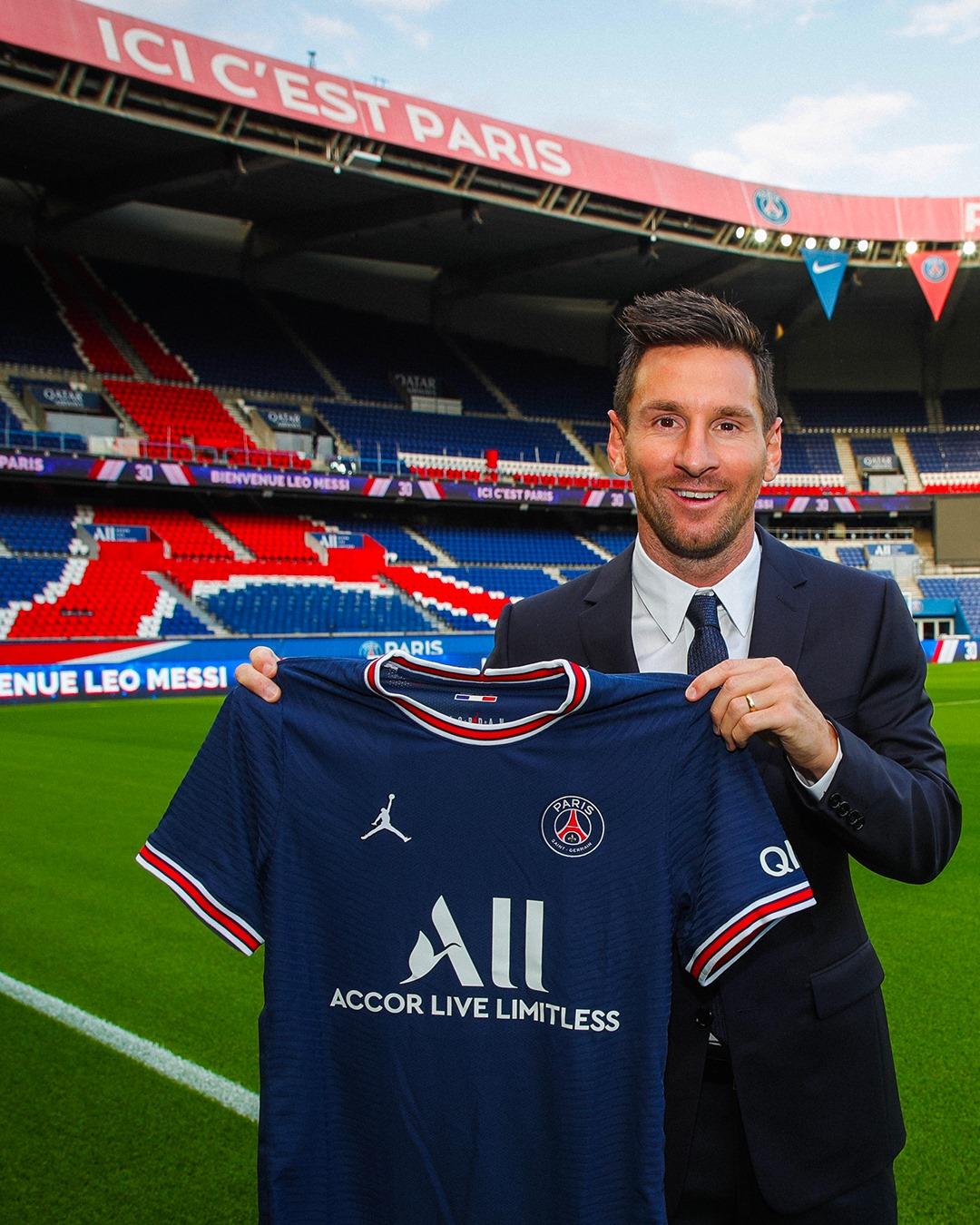 Messi à Paris