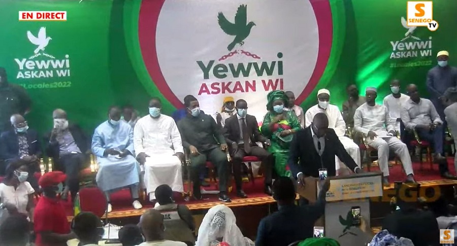 Grande Coalition Opposition Yewwi Askan Wi