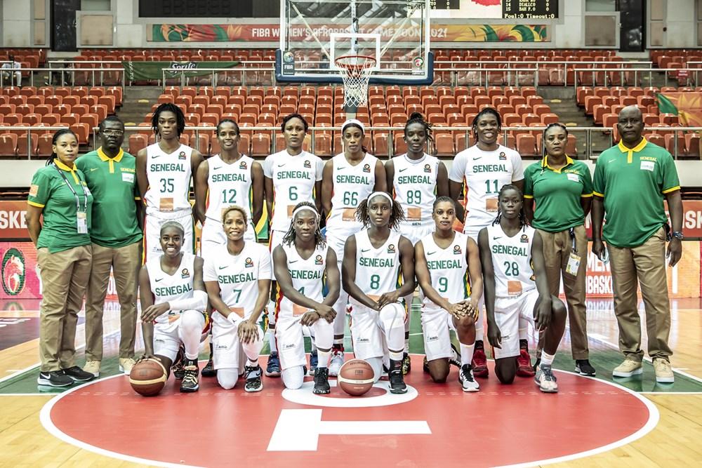 lionnes du basket 2021 team