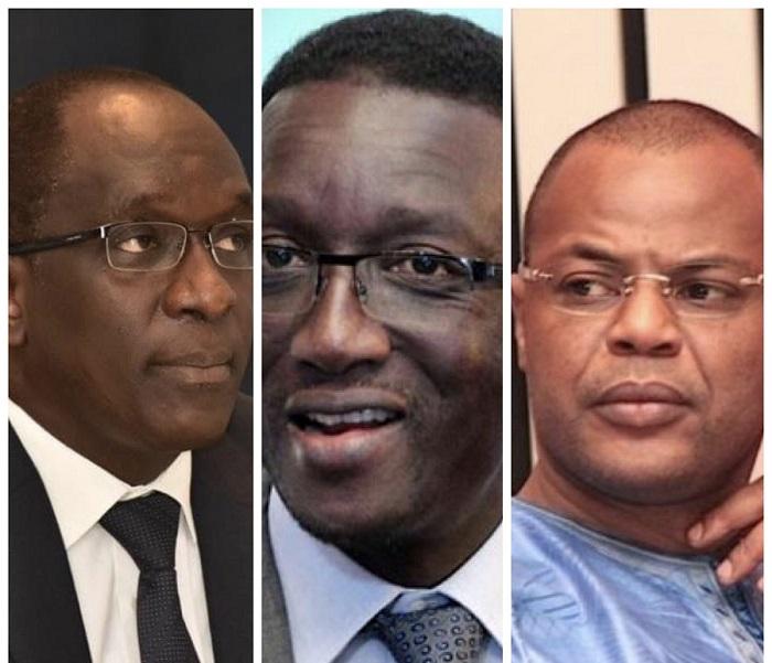Amadou Bâ, Diouf Sarr, Mame Mbaye Niang