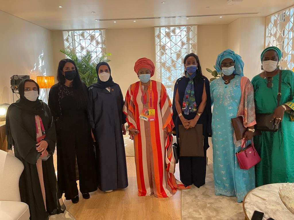 Expo Dubai 2020 Ndeye saly diop dieng (13)