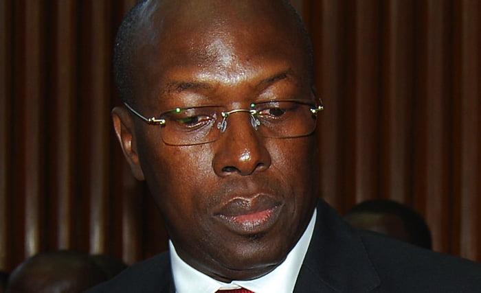 Entourage, Macky Sall, Souleymane Ndené Ndiaye