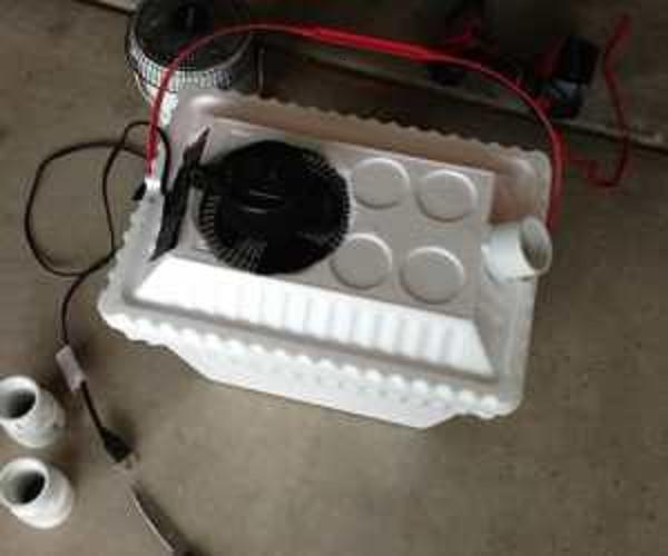 vid o regardez comment fabriquer son climatiseur partiquement sans frais. Black Bedroom Furniture Sets. Home Design Ideas