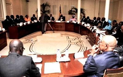 Conseil interministériel, Démarrage, Kédougou