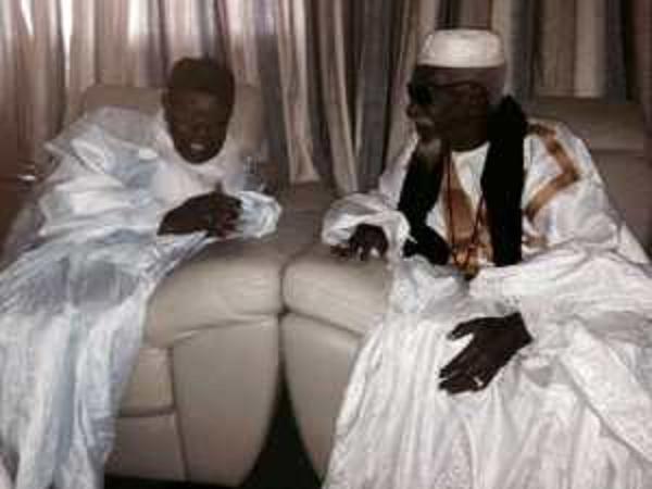 Abdoul Aziz Sy Al Amine chez le Khalife général des Mourides : « Tivaouane, par ma voix, cautionne sans réserve vos décisions »