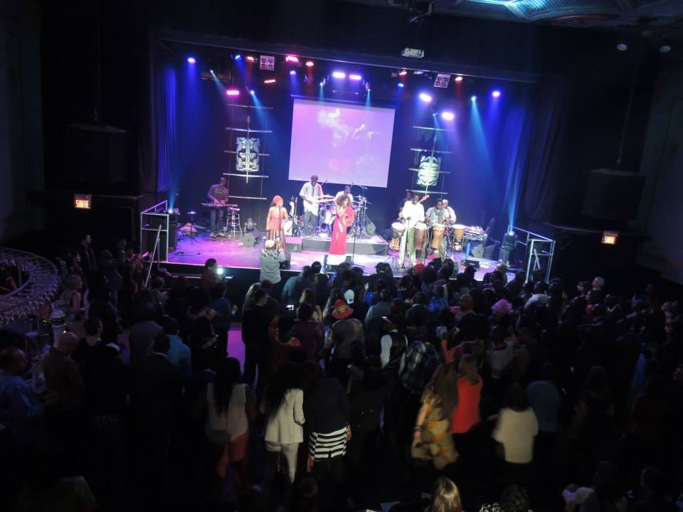 Adiouza, Canada, Concert, guichet fermé, Montréal