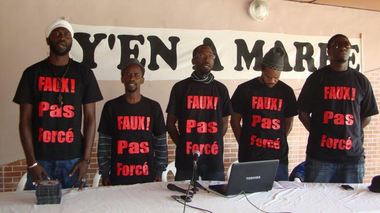 Défie, Fadel Barro, préfét Dakar, Y en a marre
