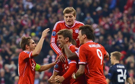 Bayern, Manchester United, Robben
