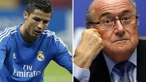 Ronaldo loue un appartement à Blatter