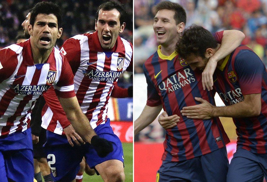 Atletico, Barça, Bayern, Manchester United
