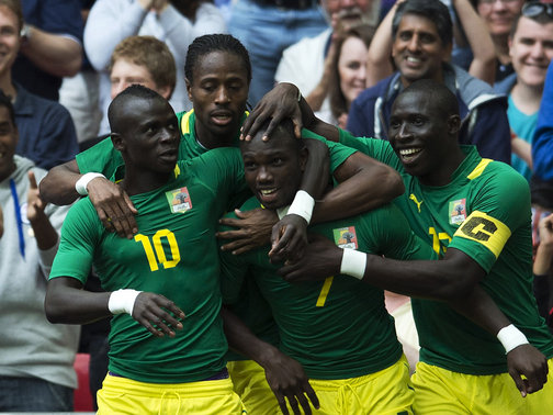 Football, Gabon, Sénégal
