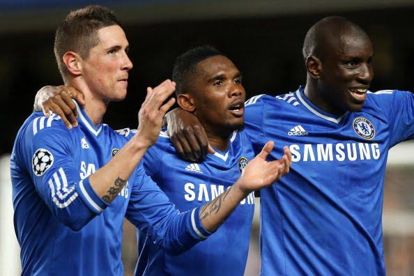 Demba Ba, Eto'o, Fernando Torres