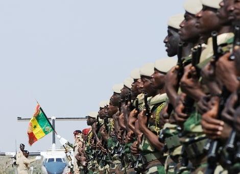 Côte d'Ivoire, Idrissa badji, Sénégal, Soldat sénégalais