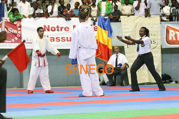 Ndoumbé FALL arbitre internationale (1)