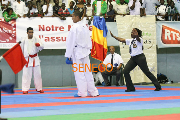 Ndoumbé FALL arbitre internationale