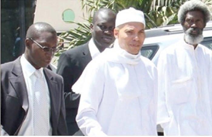 Affaire Karim Wade, Avocats, déclaration de guerre, rejet de sa candidature