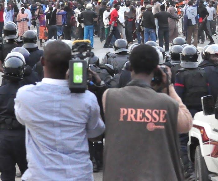 Convention des jeunes reporter, situation des journalisteprocès khalifa Sall