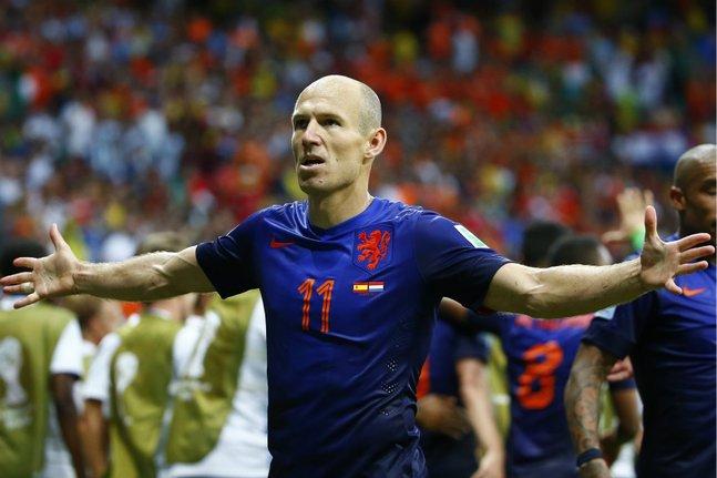Robben hollande guerrier