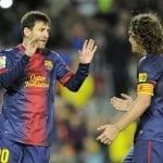 Carlos Puyol, Lionel Messi