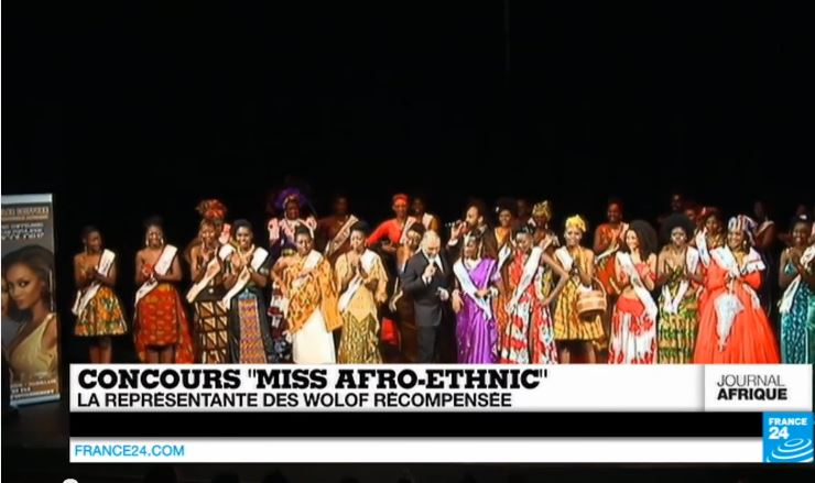 Afro-ethnic, Concours, miss
