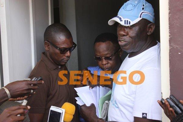 (14 photos)-Basket: Thiowly au secrétariat du Cnbs lors du dépôt de recours de Baba  Tandian, Regardez