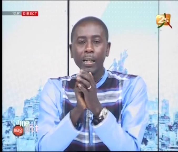 Vidéo- Pape A Niang parle de l'affaire  Serigne Aramine Mbacké et Oumy Thiam et la chaîne  2Stv