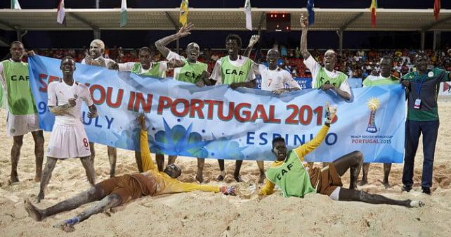 Mondial Beach soccer: Le Sénégal terrasse le géant Portugais sur ses terres