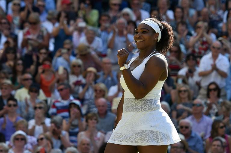 Wimbledon: Serena Williams sacrée, vise le grand Chelem historique