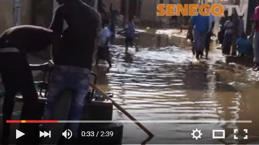 Diamaguene, inondation