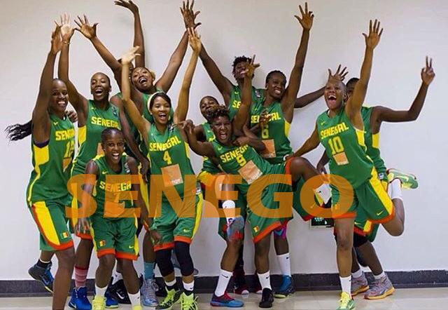Les Lionnes Championnes d'Afrique (1)