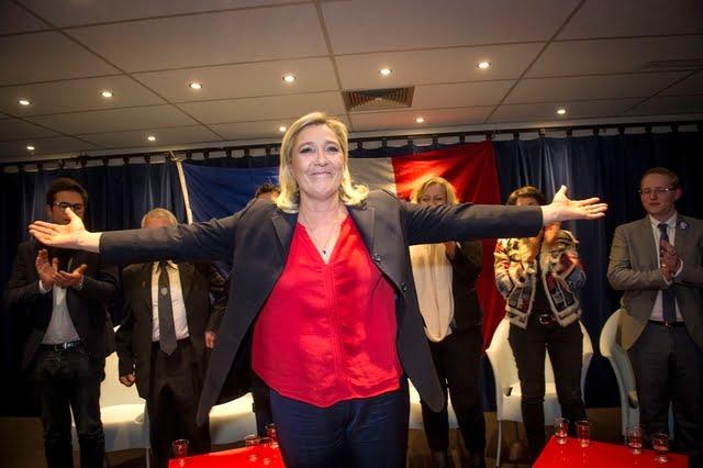 france, Marine Le Pen