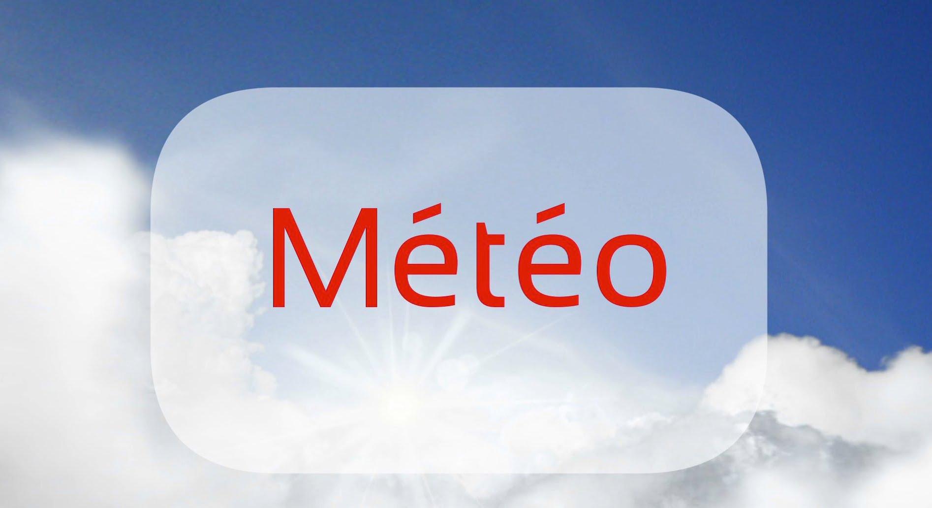 Chaleur, Ciel dégagé, Météo