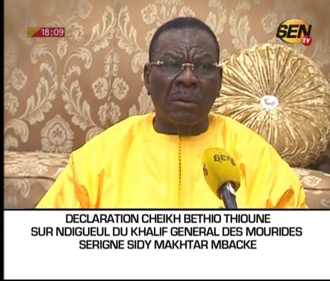 Vidéo: Après ses excuses, Bethio Thioune fait une nouvelle déclaration. Regardez