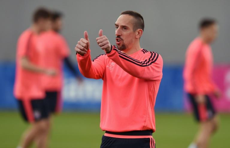 Bayern: Ribéry estime qu'il doit jouer contre l'Atletico