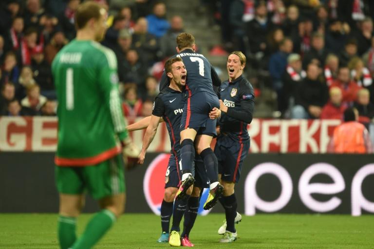 Ligue des champions: l'Atletico en finale en éliminant le Bayern Munich