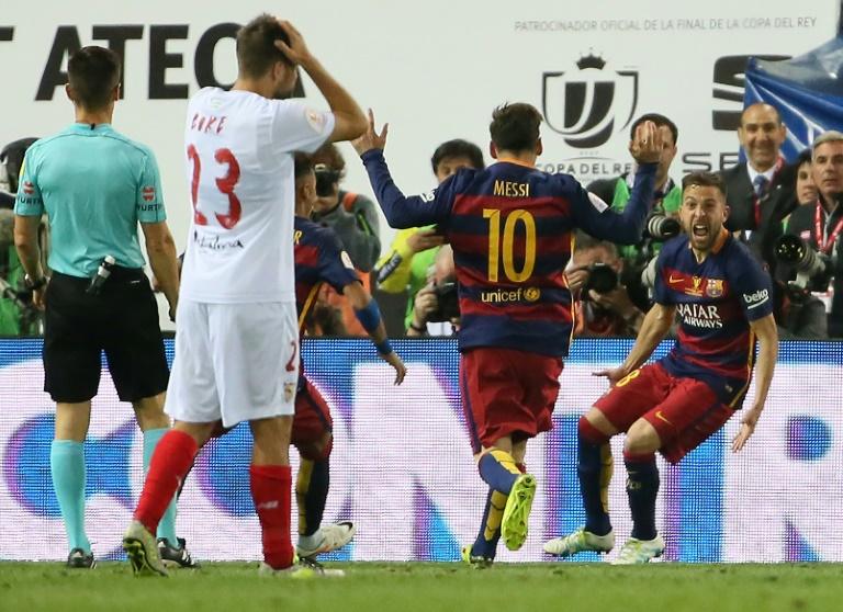 Espagne: le Barça décroche sa 28e Coupe du Roi et s'adjuge le doublé