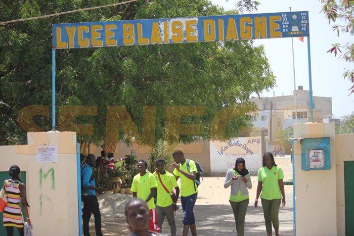 élèves lycée Blaise Diagne (14)
