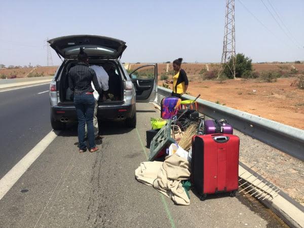 Sa voiture GMC prend feu sur l'autoroute à péage: Ndella Diouf soupçonne un sabotage
