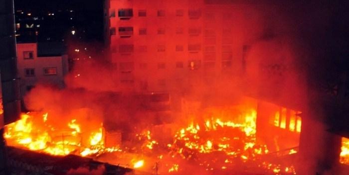 ARD, étruit par les flammes, Kaffrine, le mobilier