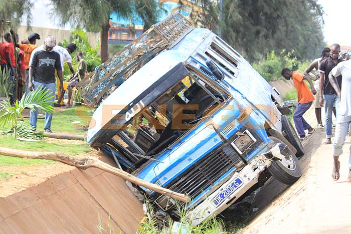 accident, Elévé, Ndiaga Ndiaye
