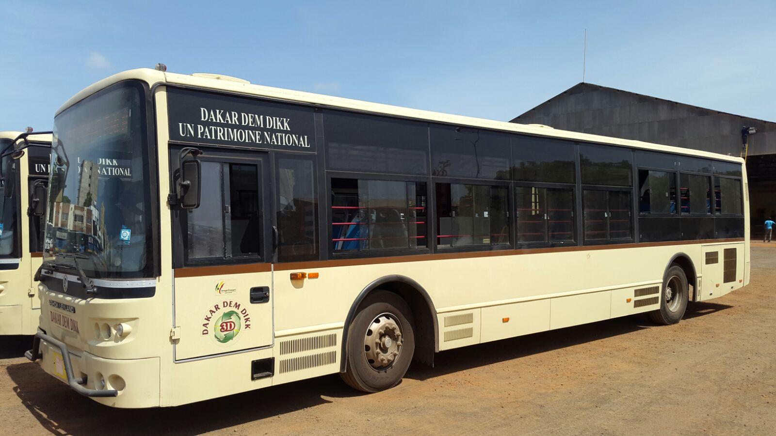 Dakar dem dik annonce Sénégal dém dik avec des bus climatisés