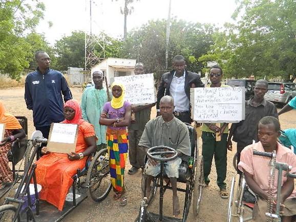 La Fédération Sénégalaise des Associations de Personnes Handicapées sonne la révolte ce mardi à 15h