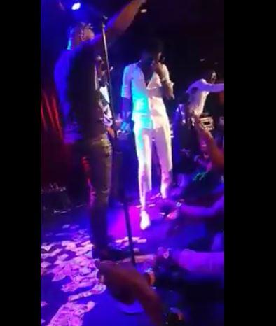 """Vidéo: Le célèbre """"gordjiguéne"""" Pape Mbaye à Waly Seck sur la scène: """"Mala yarr…"""" Regardez"""
