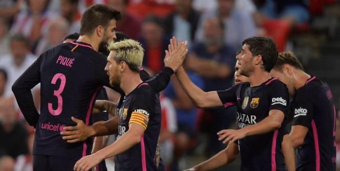 Espagne : le Barça souffre contre l'Athletic Bilbao