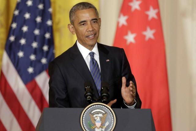 """Barack Obama : """"Trump n'est pas qualifié pour être président"""""""